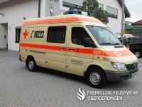 4-Tragen-Krankenwagen des OV vom Katastrophenschutz.