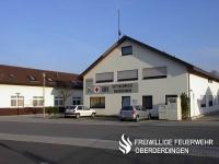 DRK-Haus des Ortsvereins Oberderdingen mit Rettungswache des DRK-Kreisverbands Karlsruhe. Sie liegt direkt gegenüber der Feuerwache der Abt. Oberderdingen.