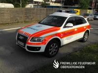 Notarzteinsatzfahrzeug NEF (Rotkreuz Karlsruhe 4/82-1) des Rettungsdienstes des DRK-Kreisverbands Karlsruhe. Indienststellung:  Februar 2013.
