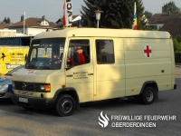 Arzttruppkraftwagen (AtrKw) des Ortsvereins Flehingen.
