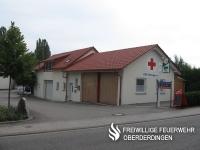 Unterkunft des DRK-Ortsvereins Flehingen.